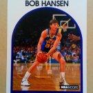 1989-90 NBA Hoops #27 Bob Hansen Utah Jazz