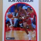 1989-90 NBA Hoops #32 Ron Anderson Philadelphia 76ers