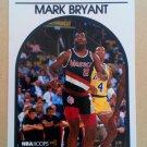 1989-90 NBA Hoops #36 Mark Bryant Portland Trail Blazers Rookie