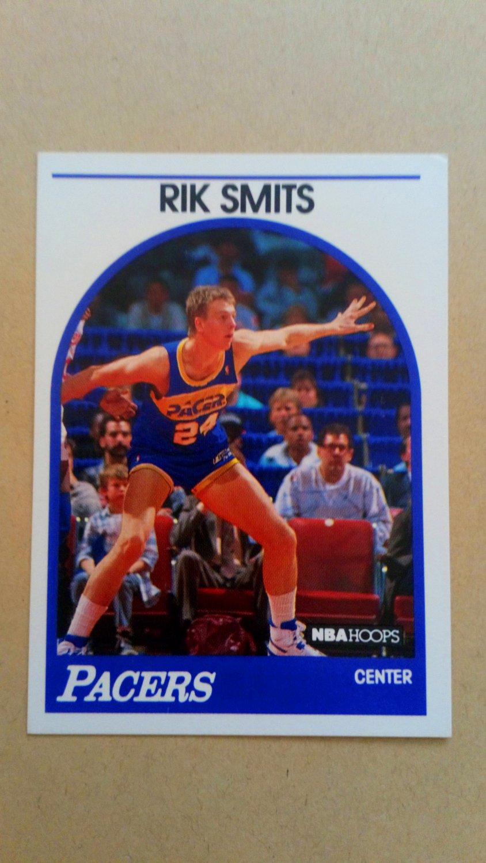 1989-90 NBA Hoops #37 Rik Smits Indiana Pacers Rookie