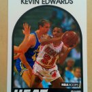 1989-90 NBA Hoops #41 Kevin Edwards Miami Heat Rookie