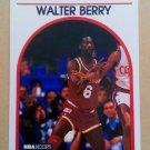 1989-90 NBA Hoops #44 Walter Berry Houston Rockets