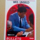 1989-90 NBA Hoops #53 Wes Unseld Washington Bullets