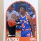 1989-90 NBA Hoops #58 Johnny Newman New York Knicks