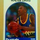 1989-90 NBA Hoops #61 Walter Davis Denver Nuggets