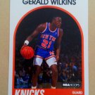 1989-90 NBA Hoops #63 Gerald Wilkins New York Knicks