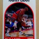 1989-90 NBA Hoops #67 Harvey Grant Washington Bullets Rookie