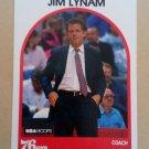 1989-90 NBA Hoops #68 Jim Lynam Philadelphia 76ers