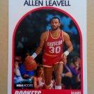 1989-90 NBA Hoops #77 Allen Leavell Houston Rockets