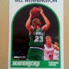 1989-90 NBA Hoops #81 Bill Wennington Dallas Mavericks