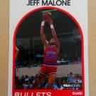 1989-90 NBA Hoops #85 Jeff Malone Washington Bullets