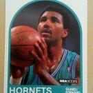 1989-90 NBA Hoops #88 Robert Reid Charlotte Hornets
