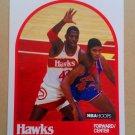 1989-90 NBA Hoops #98 Kevin Willis Atlanta Hawks