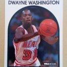 1989-90 NBA Hoops #101 Dwayne Washington Miami Heat