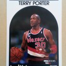 1989-90 NBA Hoops #105 Terry Porter Portland Trail Blazers