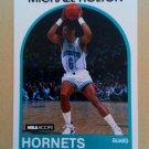 1989-90 NBA Hoops #119 Michael Holton Charlotte Hornets