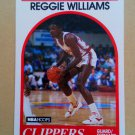 1989-90 NBA Hoops #128 Reggie Williams Los Angeles Clippers