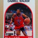 1989-90 NBA Hoops #134 Darrell Walker Washington Bullets