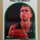 1989-90 NBA Hoops #136 Fred Roberts Milwaukee Bucks