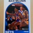 1989-90 NBA Hoops #145 Buck Williams New Jersey Nets