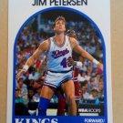 1989-90 NBA Hoops #147 Jim Petersen Sacramento Kings