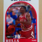 1989-90 NBA Hoops #149 Sam Vincent Chicago Bulls