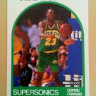 1989-90 NBA Hoops #152 Olden Polynice Seattle Supersonics