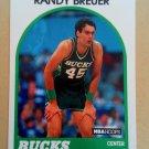 1989-90 NBA Hoops #153 Randy Breuer Milwaukee Bucks