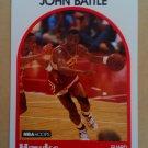 1989-90 NBA Hoops #154 John Battle Atlanta Hawks