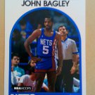 1989-90 NBA Hoops #163 John Bagley New Jersey Nets