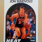 1989-90 NBA Hoops #175 Jon Sundvold Miami Heat
