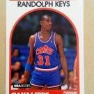 1989-90 NBA Hoops #181 Randolph Keys Cleveland Cavaliers Rookie