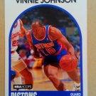 1989-90 NBA Hoops #188 Vinnie Johnson Detroit Pistons