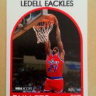 1989-90 NBA Hoops #194 Ledell Eackles Washington Bullets Rookie