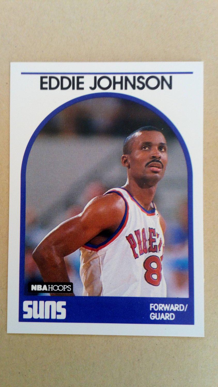 1989-90 NBA Hoops #195 Eddie Johnson Phoenix Suns
