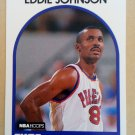 1989-90 NBA Hoops #195 Eddie Johnson Phoenix Suns