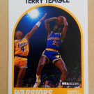 1989-90 NBA Hoops #196 Terry Teagle Golden State Warriors