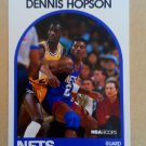 1989-90 NBA Hoops #199 Dennis Hopson New Jersey Nets