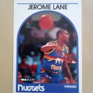 1989-90 NBA Hoops #201 Jerome Lane Denver Nuggets Rookie