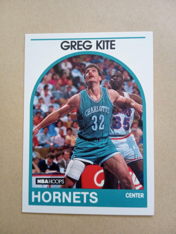 1989-90 NBA Hoops #202 Greg Kite Charlotte Hornets