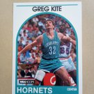 1989-90 NBA Hoops #202 Greg Kite Charlotte Hornets