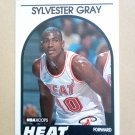 1989-90 NBA Hoops #204 Sylvester Gray Miami Heat Rookie