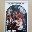 1989-90 NBA Hoops #207 Rory Sparrow Miami Heat
