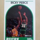 1989-90 NBA Hoops #212 Ricky Pierce Milwaukee Bucks