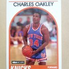 1989-90 NBA Hoops #213 Charles Oakley New York Knicks