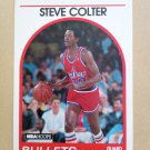 1989-90 NBA Hoops #214 Steve Colter Washington Bullets
