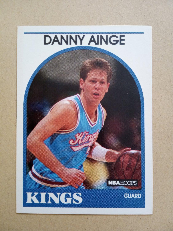1989-90 NBA Hoops #215 Danny Ainge Sacramento Kings