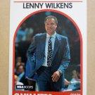 1989-90 NBA Hoops #216 Lenny Wilkens Cleveland Cavaliers