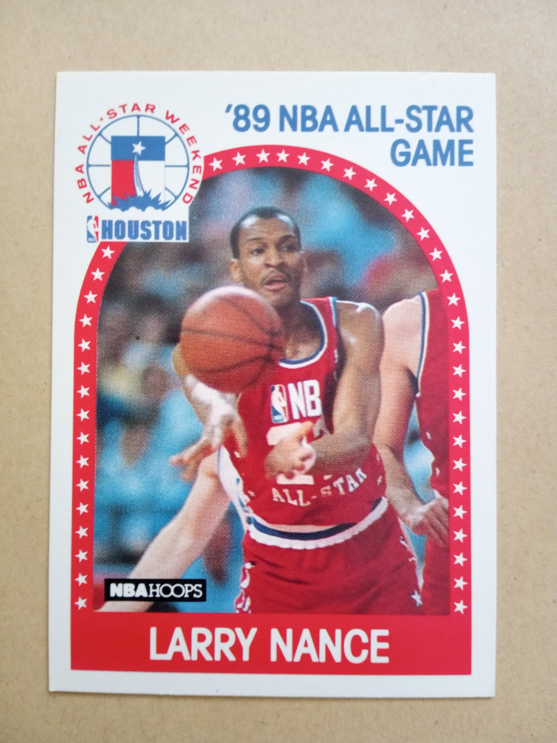1989-90 NBA Hoops #217 Larry Nance Cleveland Cavaliers All-Star