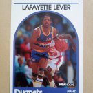 1989-90 NBA Hoops #220 Lafayette Lever Denver Nuggets